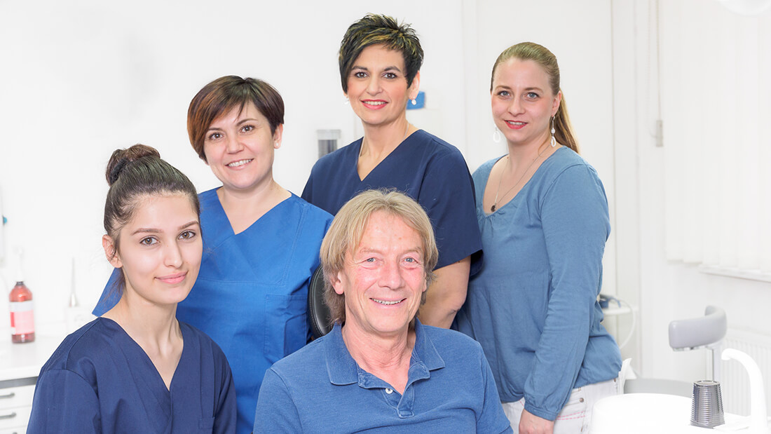 Praxis - Zahnarzt Hadamar - Helmut Heppel - Zahnarztpraxis - Teambild
